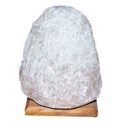Doğal Kaya Tuzu Lambası Kırşehir Kablolu Ampullü Beyaz 4-5 Kg