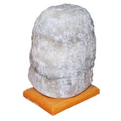 LokmanAVM - Doğal Kaya Tuzu Lambası Kırşehir Kablolu Ampullü Beyaz 5-6 Kg Görseli