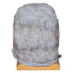 Doğal Kaya Tuzu Lambası Kırşehir Kablolu Ampullü Beyaz 5-6 Kg - Thumbnail