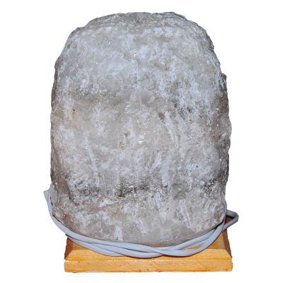 Doğal Kaya Tuzu Lambası Kırşehir Kablolu Ampullü Beyaz 5-6 Kg