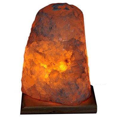 Doğal Kristal Kaya Tuzu Lambası Çankırı Kablolu Ampullü Beyaz 2-3 Kg