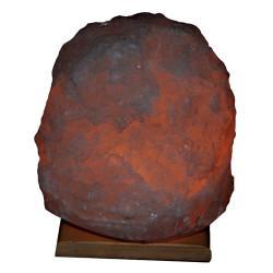 Doğal Kristal Kaya Tuzu Lambası Çankırı Kablolu Ampullü Beyaz 5-6 Kg - Thumbnail