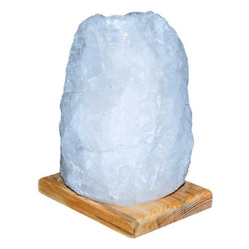 Doğal Kristal Kaya Tuzu Lambası Çankırı Kablolu Ampullü Beyaz 7-8 Kg