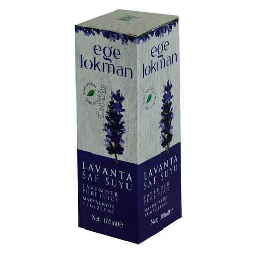 Doğal Lavanta Saf Suyu Makyaj ve Yüz Temizleme 100 ML Spreyli Cam Şişe
