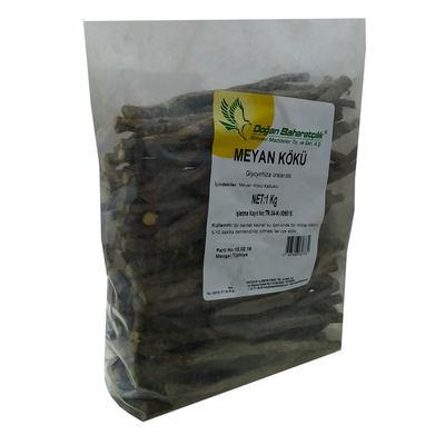 Doğal Meyan Kökü Çubuk Kabuklu 1000 Gr Paket