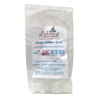 Doğal Nöbet Şekeri 50 Gr Paket