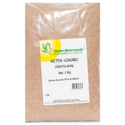 Doğan - Doğal Öğütülmüş Keten Tohumu 1000 Gr Paket Görseli