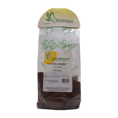 Doğal Öğütülmüş Üzüm Çekirdeği 100 Gr Paket