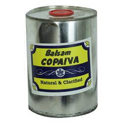 Doğal Pelesenk Yağı 1000 Gr Teneke Kutu (Balsam Copaiva Natural & Clarified) - Thumbnail