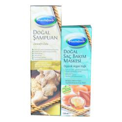 Zencefil Özlü Şampuan 250 ML + Argan Yağlı Saç Maskesi 150 ML - Thumbnail