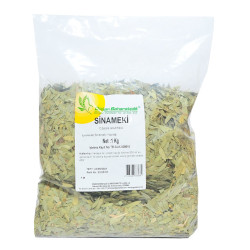 Doğal Sinameki Yaprağı 1000 Gr Paket - Thumbnail
