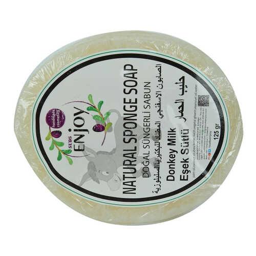 Doğal Süngerli Eşek Sütü Sabunu 125 Gr