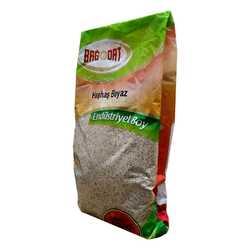Bağdat Baharat - Doğal Tane Haşhaş Tohumu Beyaz 1000 Gr Paket Görseli