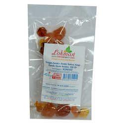 LokmanAVM - Doğal Zamk-ı Arabi Sakızı Arap Zamkı Gum Arabic 100 Gr Paket Görseli