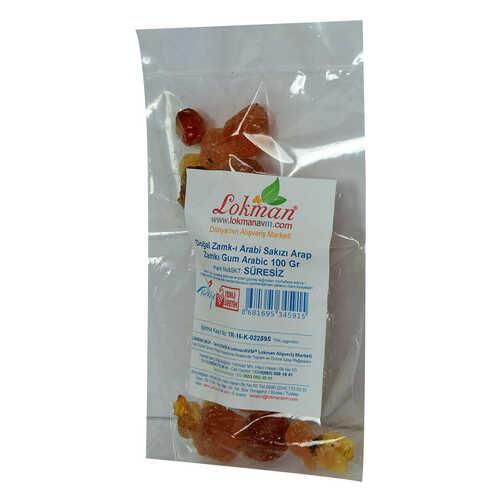 Doğal Zamk-ı Arabi Sakızı Arap Zamkı Gum Arabic 100 Gr Paket