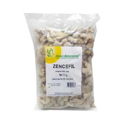 Doğal Zencefil Kökü 1000 Gr Paket