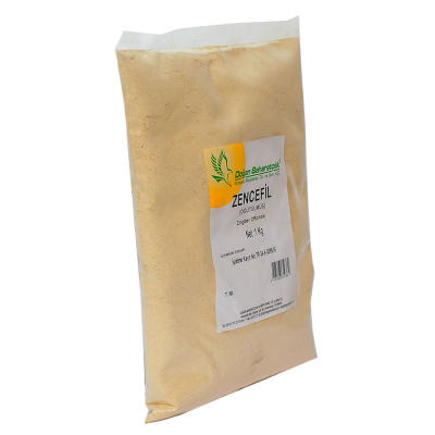 Doğal Zencefil Kökü Öğütülmüş 1000 Gr Paket