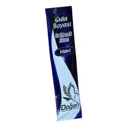 Pasta Şerbet Slime Gıda Boyası Mavi Toz 9 Gr Paket - Thumbnail
