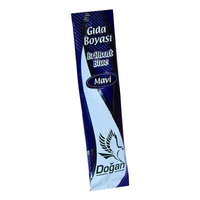 Pasta Şerbet Slime Gıda Boyası Mavi Toz 9 Gr Paket
