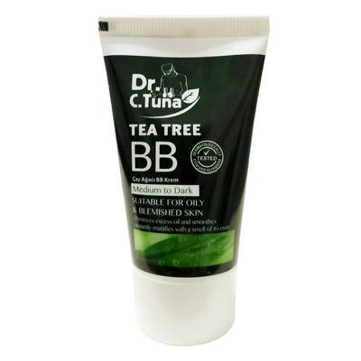 Dr. C. Tuna Çay Ağacı Yağı BB Krem Ortadan Koyuya 50 ML
