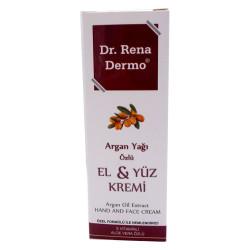 Dr. Rena Dermo - Argan Yağı Özlü El ve Yüz Kremi 150ML (1)