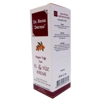 Argan Yağı Özlü El ve Yüz Kremi 150 ML