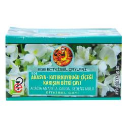 Akasya Katırkuyruğu Çiçeği Karışım Bitki Çayı 20 Süzen Poşet - Thumbnail