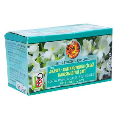 Akasya Katırkuyruğu Çiçeği Karışım Bitki Çayı 20 Süzen Poşet