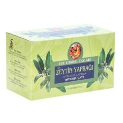 Zeytin Yaprağı Bitki Çayı 20 Süzen Poşet - Thumbnail
