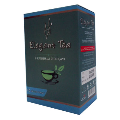 Elegant Tea 9 lu Form Bitkisel Çay 42 Süzen Pşt
