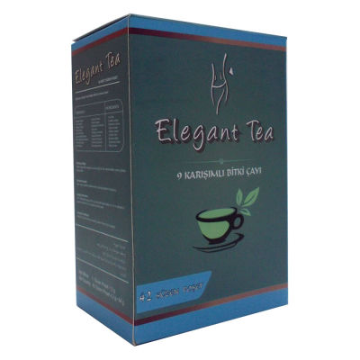 Elegant Tea 9lu Form Bitkisel Çay 42 Süzen Poşet