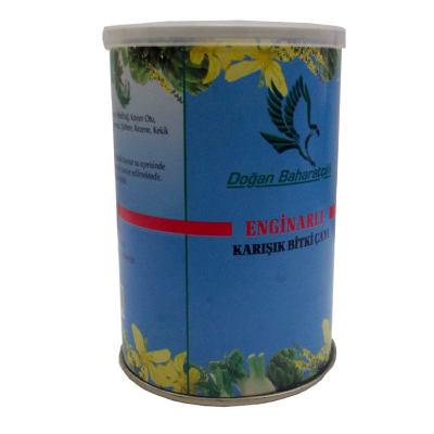 Enginarlı Karışık Bitkisel Çay 100 Gr Teneke Kutu
