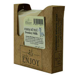 Enjoy - Eşek Sütlü Yüz, Vücut ve Saç Sabunu 100 Gr (1)