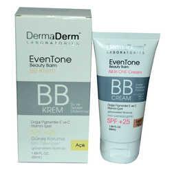DermaDerm - EvenTone BB Krem Açık Ton Vitaminli Spf+25 Güneş Koruma Bitki Özlü 50 ML (1)