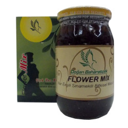 Flower Mix Nar Ekşili Sinamekili Macunu Cam Kavanoz 450 Gr - Thumbnail