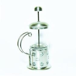 French Press Bitki Çayı Cam Demliği 02 350 ML - Thumbnail
