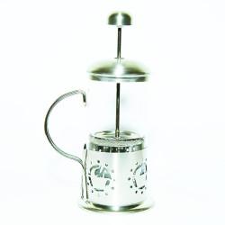 French Press Bitki Çayı Cam Demliği 03 350 ML - Thumbnail