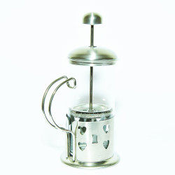 French Press Bitki Çayı Cam Demliği 04 350 ML - Thumbnail