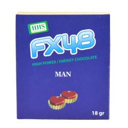 FX48 Erkeklere Özel Çikolata 18 Gr - Chocolate Man - Thumbnail