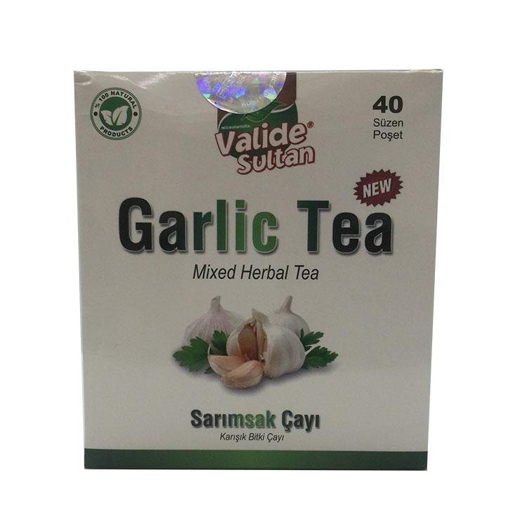 Bitkisel Karışımlı Garlic Tea Mixed Herbal Tea Zayıflamaya Çayı