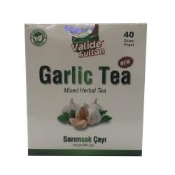Garlic Tea Sarımsak Çayı 40 Süzen Pşt - Thumbnail