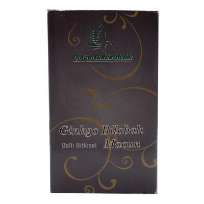 Ginkgo Bilobalı Ballı Bitkisel Karışım Cam Kavanoz 450 Gr