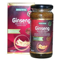 Aksuvital - Ginseng Ekstraktlı Epimedium İlaveli Macun 300 Gr (1)