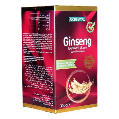 Ginseng Ekstraktlı Epimedium İlaveli Macun 300 Gr