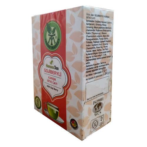 Gojiberyli Karışık Bitki Çayı 42 Süzen Poşet