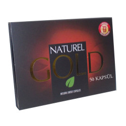 1001Naturel - Gold Bitkisel 50Kapsül Görseli