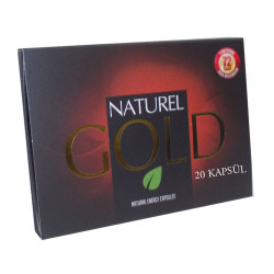 1001Naturel - Gold Bitkisel 20Kapsül Görseli