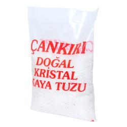 Granül Doğal Kristal Kaya Çakıl Tuz Çankırı 1KG - Thumbnail