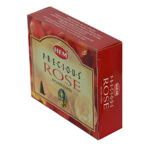 Gül Kokulu 10 Konik Tütsü - Rose