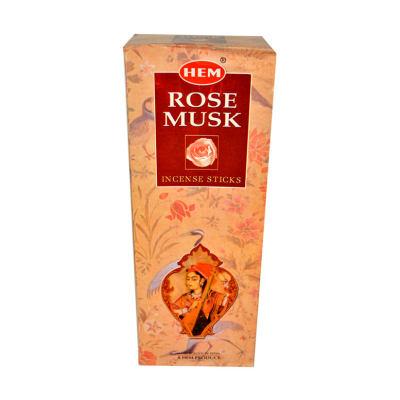 Gül Misk Kokulu 20 Çubuk Tütsü - Rose Musk